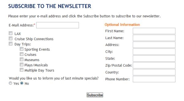 Sign-Up Forms: 14 Ways to Increase Conversions