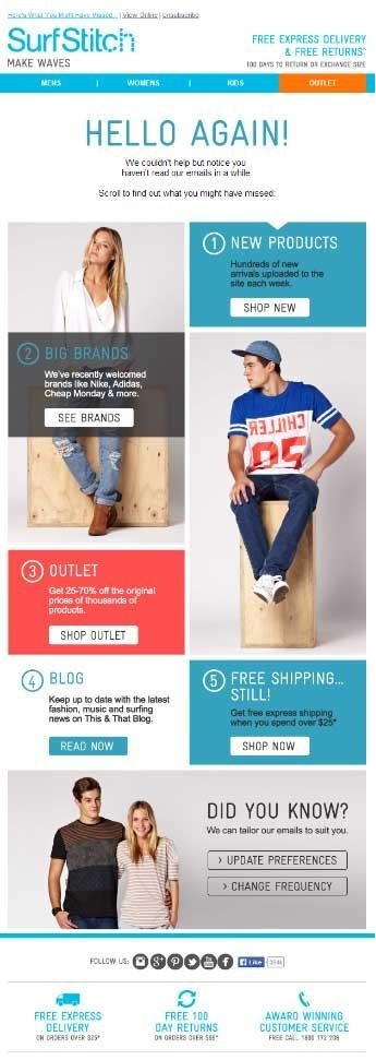Inspiring Email Template Examples for Ecommerce Industry