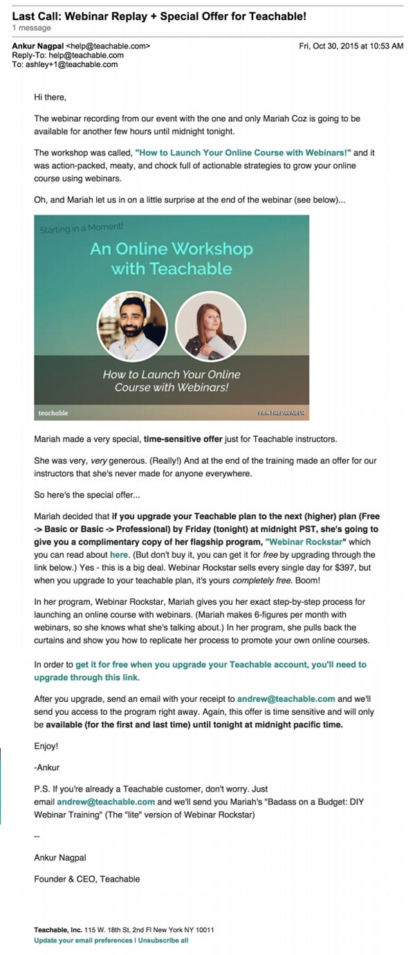 Webinar Emails: A Start-to-Finish Promotion Process