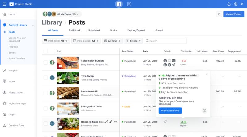 Facebook video marketers get new tools, metrics for Live, Watch Parties, Creator Studio