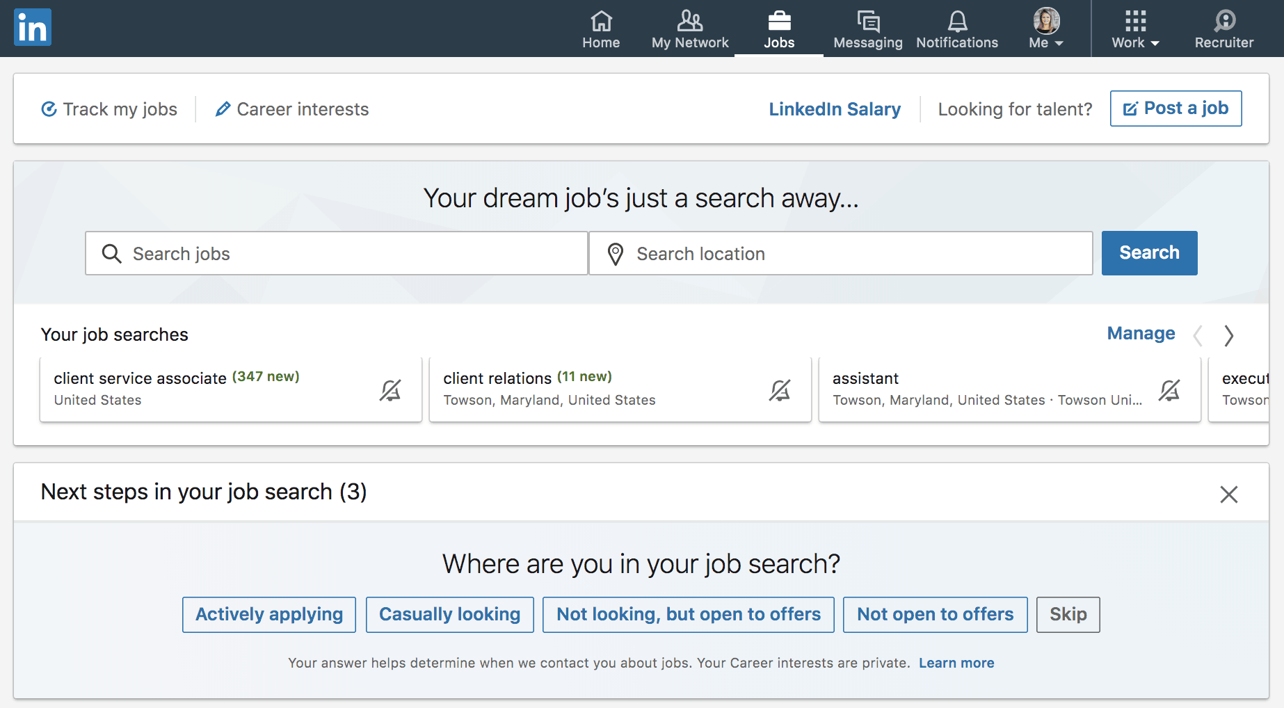 The LinkedIn Job Feature is Better Than Ever