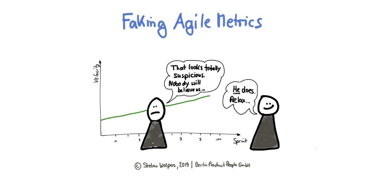 Faking Agile Metrics or Cooking the Agile Books