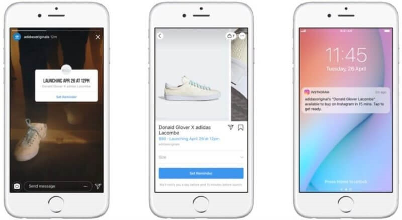 Launching a new product? New Instagram tests launch day 'Buy on Instagram' reminders