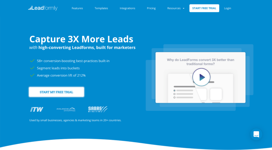 20 Lead Generation Tools to Get More Targeted Leads