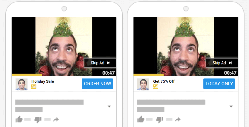 Getting the most out of limited YouTube creative during the holiday season
