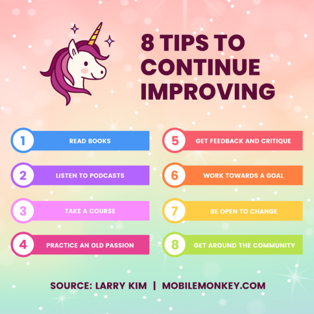 In the New Year, Try These 8 Things to Stay Constantly Improving at Work