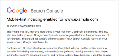 How to Tell if Mobile-First Indexing is Enabled