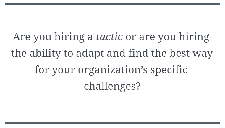 Stop Hiring the Wrong People! (Or How to Hire for Growth, Not Skills)