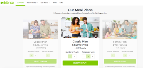 15 of the Best Pricing Page Examples that Fuel Sales (+ Actionable Tips)