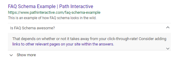 Writing FAQ Page Schema for More Clicks