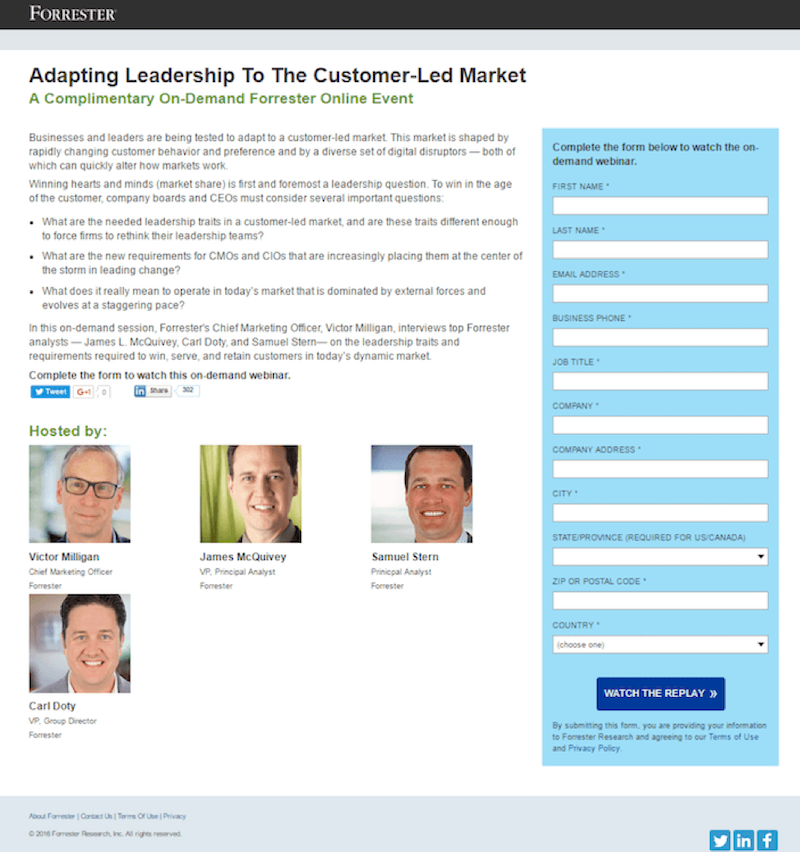5 Steps to Build a Webinar Landing Page That Guarantees Attendees