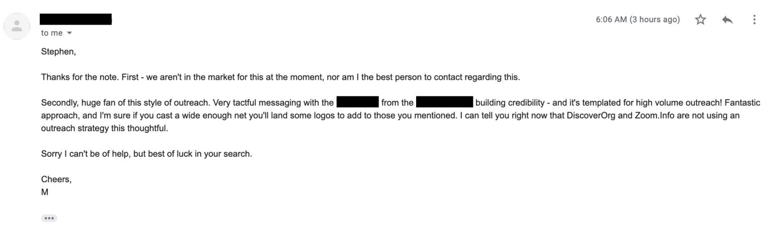 The Secret to Cold Emails That Get Responses