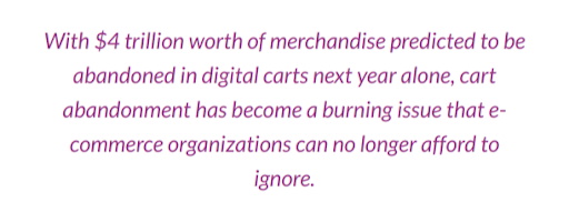 Abandoning Shopping Carts: How to Deal With the Bane of Ecommerce Platforms