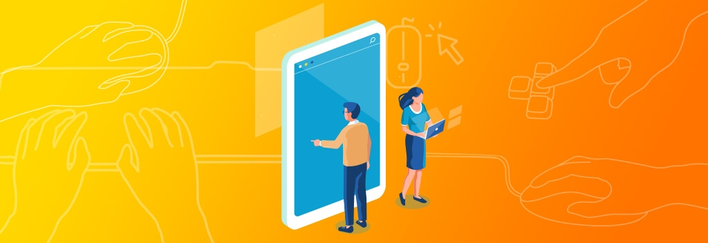 Using Interactive Web Design to Connect with B2B Clients During Social Distancing