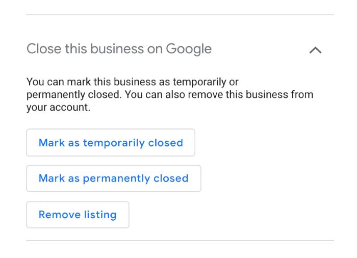 Changes to Google My Business Due to Coronavirus