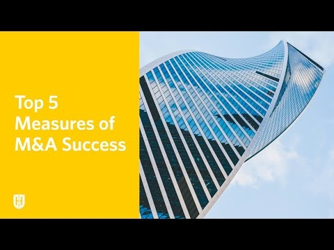 Top 5 Measures of M and A Success