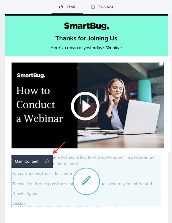 How to Create a Smart Email for Webinar Follow-Up + Templates