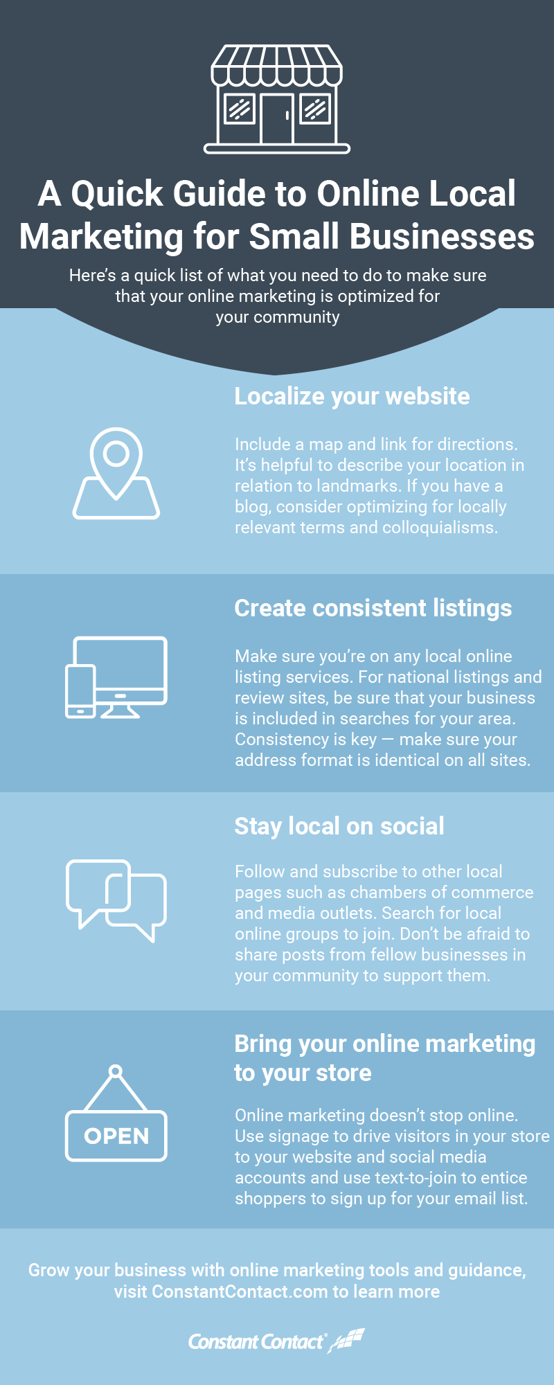 A Quick Guide to Online Local Marketing for Small Businesses [Infographic]