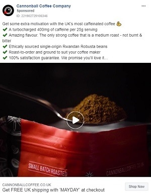 6 Quick Tips for Creating eCommerce Facebook Video Ads that Covert [+ Examples]