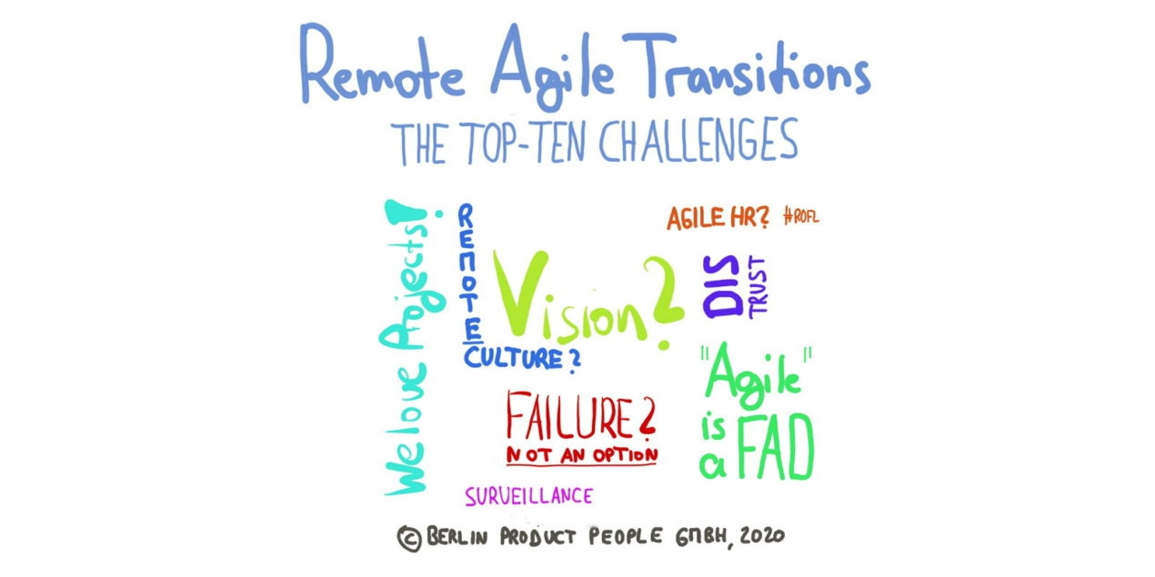 Remote Agile Transitions —The Top-Ten Challenges