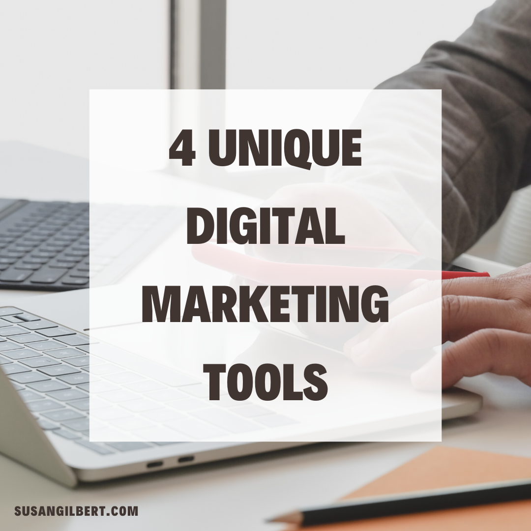 4 Unique Digital Marketing Tools
