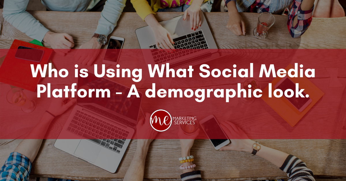 Who is Using Which Social Media Platform – A Demographic Look