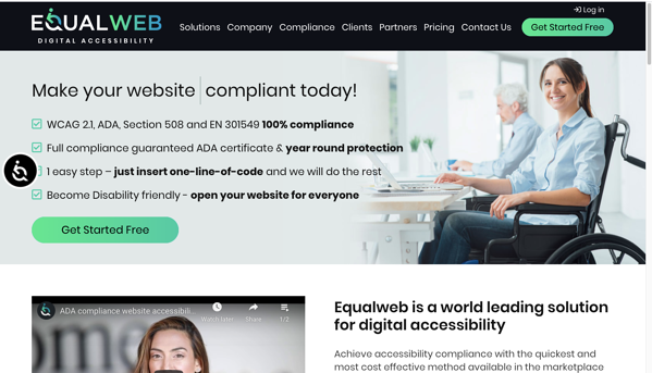 10 Website Accessibility Software Solutions That Help You Achieve ADA Compliance