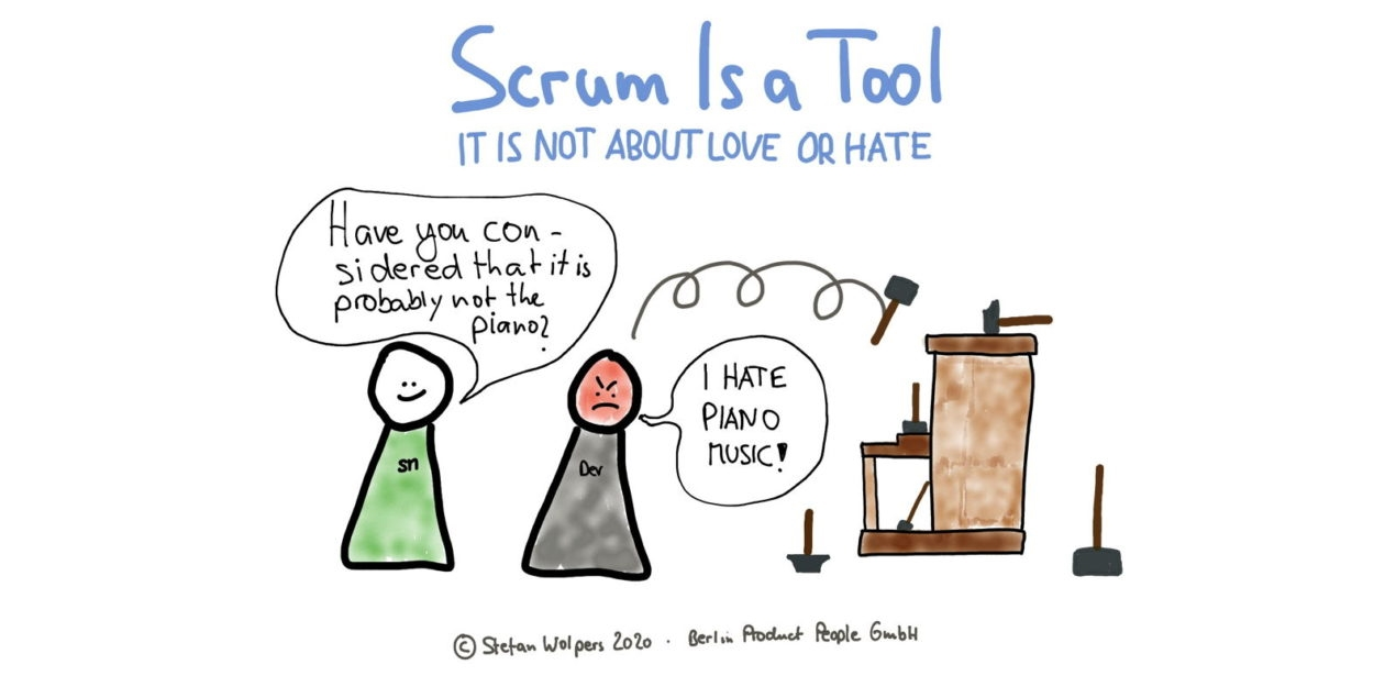 Scrum's Nature: It is a Tool; It is Not About Love or Hate