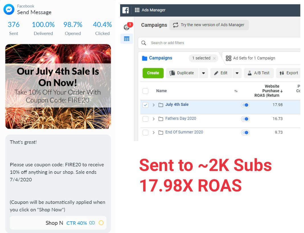 Facebook Messenger Marketing: Grow Your Ecommerce Audience (and Sales)