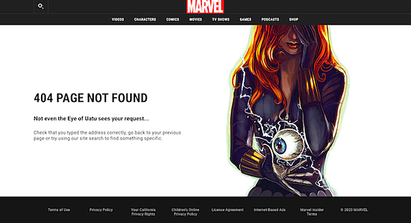 20 of the Best 404 Page Examples Ever (+ Tips to Make Yours Awesome)