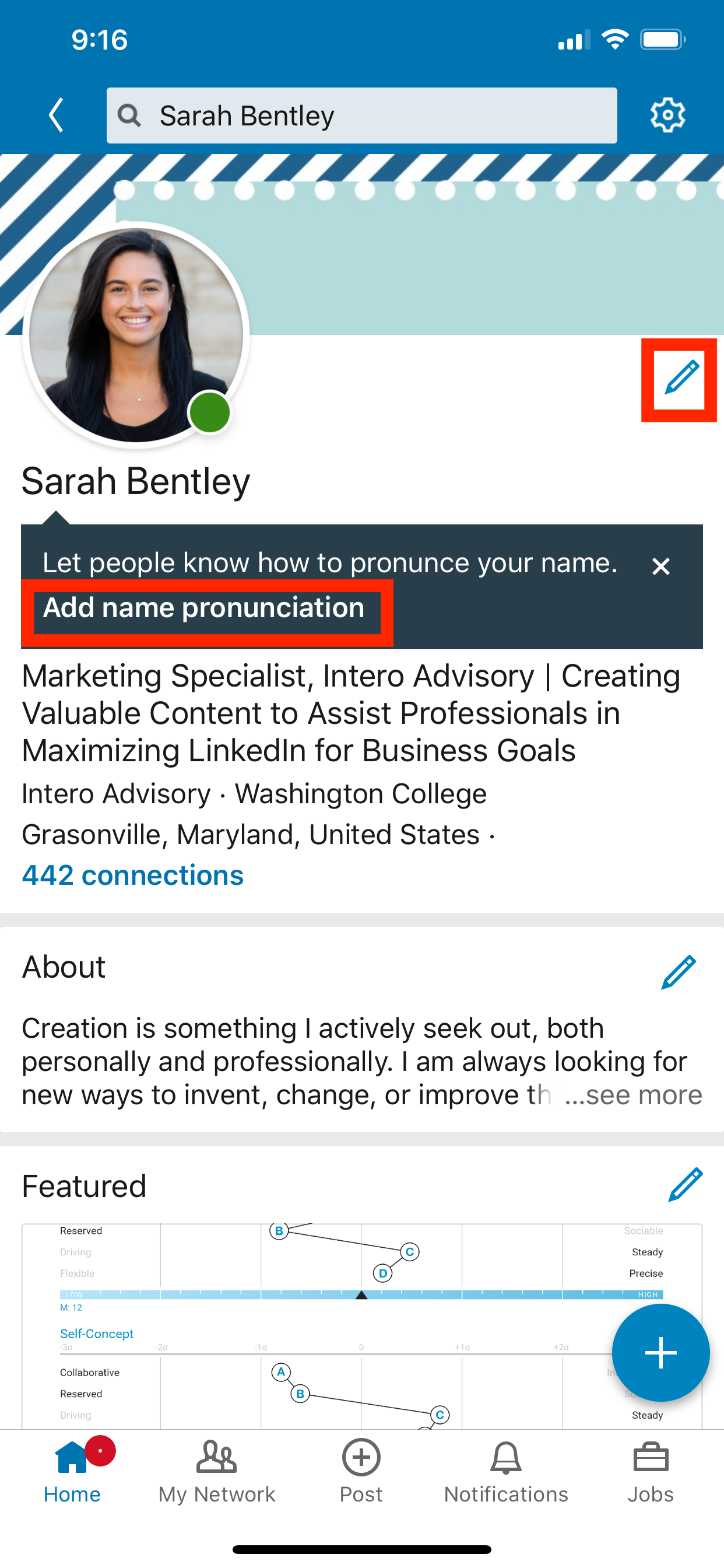 Quick Tip: Add Your Name Pronunciation on LinkedIn