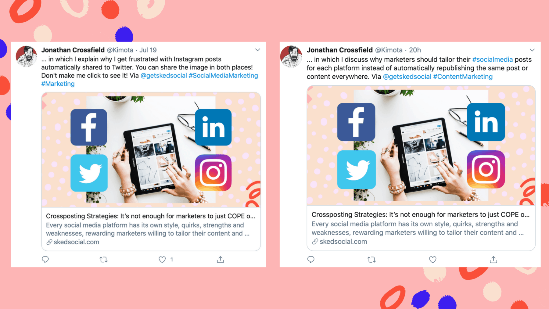 Stuck on Repeat: Why Automatic Reposting Is a Bad Idea