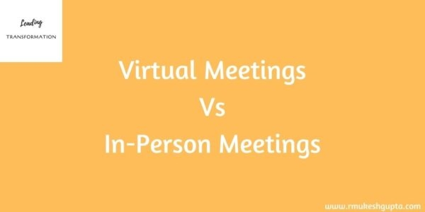 Virtual Vs In-Person Meetings