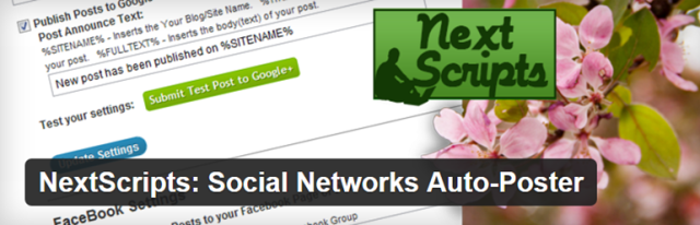 How To Auto-Post To Social Networks From WordPress