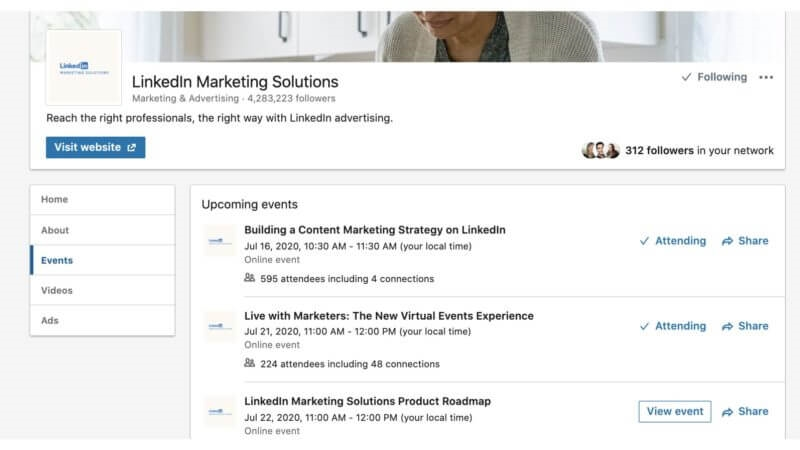 LinkedIn lets Page owners view, sort, learn more about their followers
