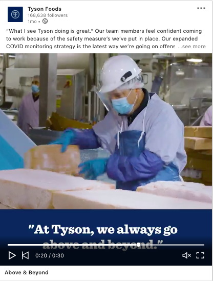 Trend: 5 Companies Using LinkedIn Video to Advance Goals During the Pandemic