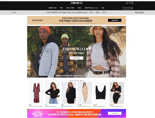 The 10 Best Ecommerce Website Designs for 2021 (+ Tips for Creating Successful Ecommerce Sites)