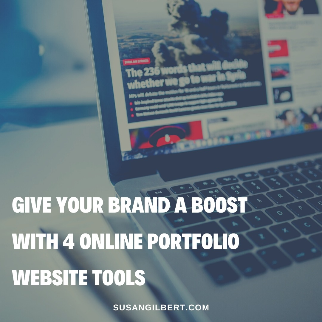 Give Your Brand a Boost with 4 Online Portfolio Website Tools