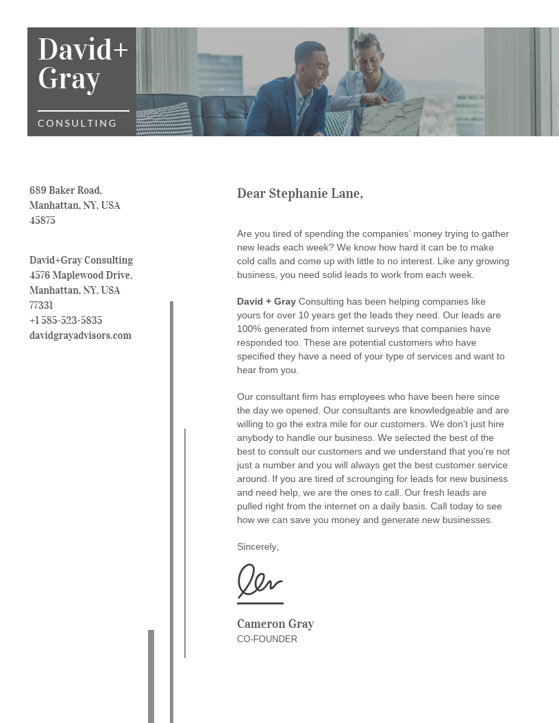 3 Essential Business Letters Companies Need to Write