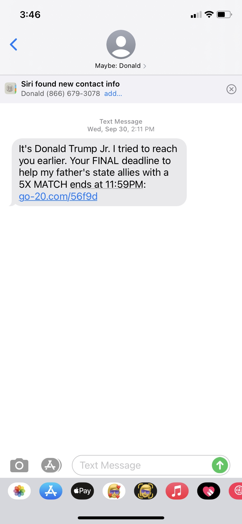 What I Learned About Digital Short-form Content From 2,462 Republican Recruitment Text Messages