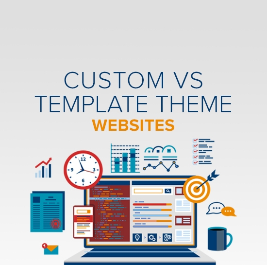 Custom vs. Template Themes