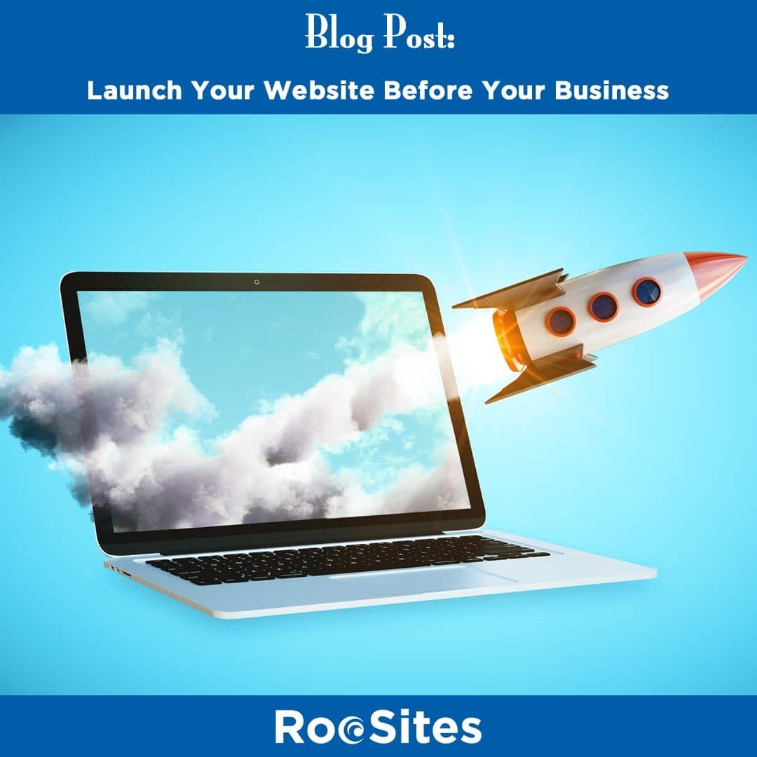 Launch Your Website Before Your Business