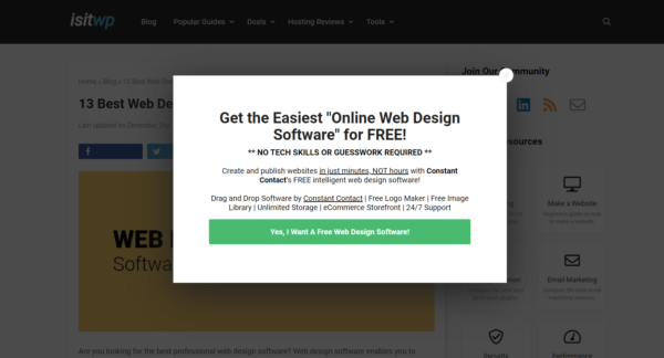 5 Best Ideas For Personalizing Your Opt-in Popup Form