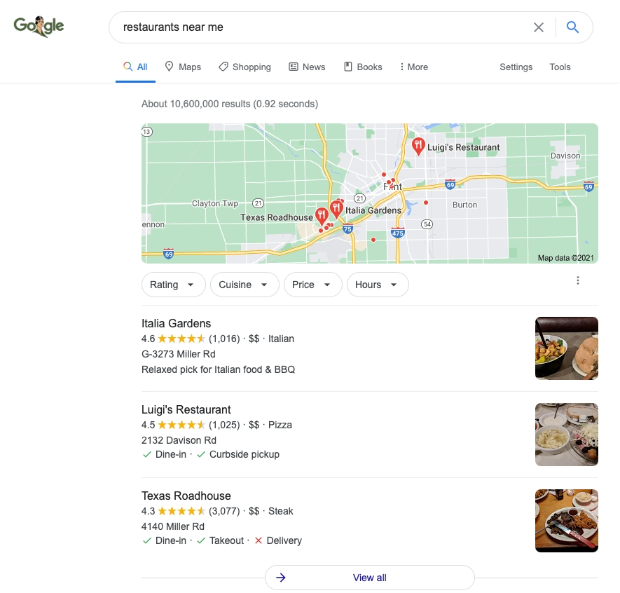 Don't Overlook Google My Business