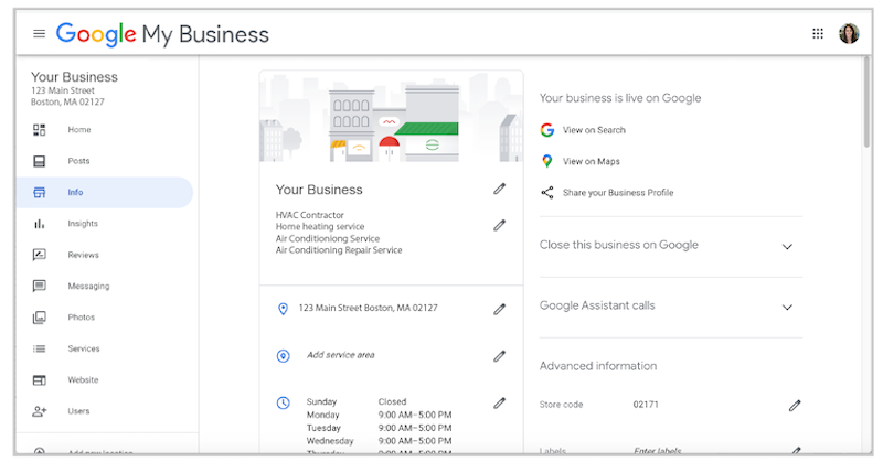 How (+ When  and  Why) to Update Your Google Business Listing