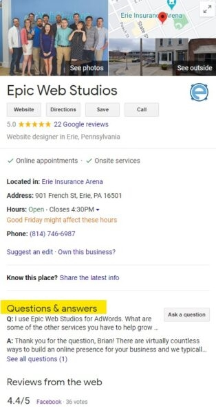 Optimize Your Local Listing with the Google My Business Q and A Feature