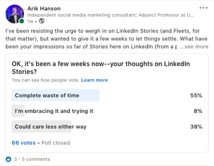 """Did Social Media Platforms Learn Nothing From the """"Stories"""" Rush?"""