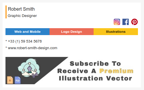 Use Your HTML Email Signature to Capture Subscribers