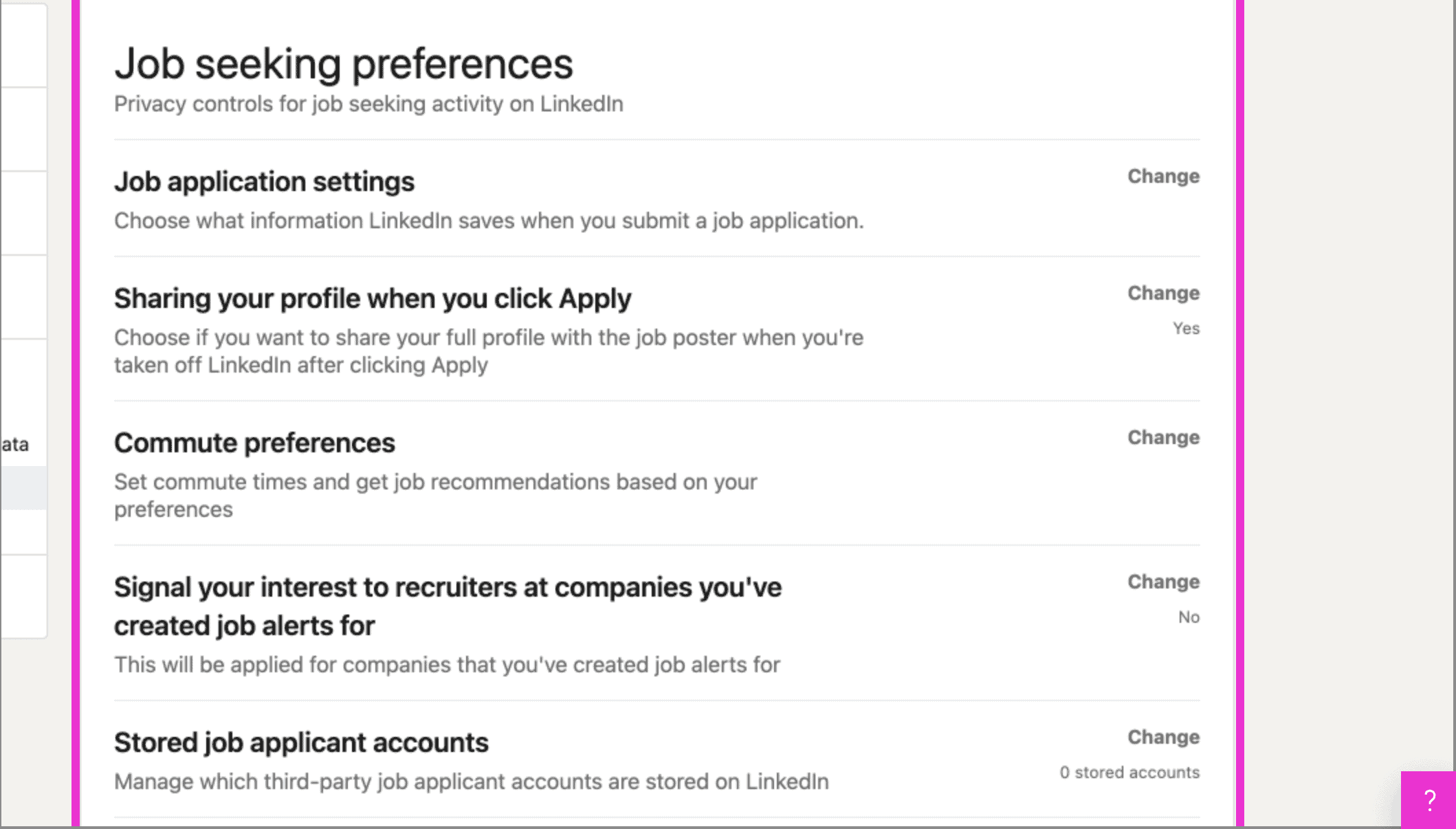 How to Edit Your Job Seeking Preferences on LinkedIn