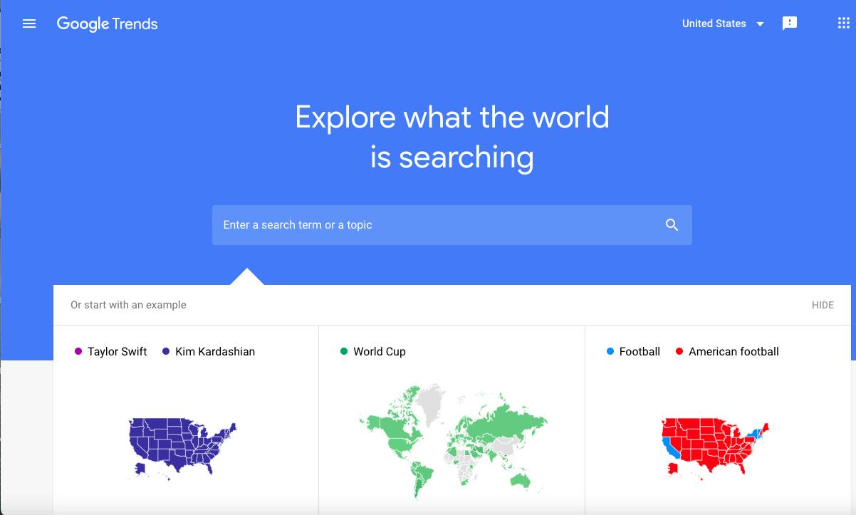 Google Trends as an SEO Tool